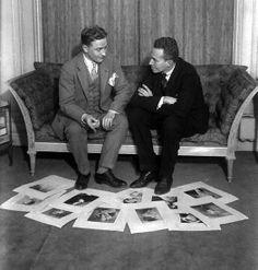 F. Scott Fitzgerald and Cornelius Vanderbilt Jr.