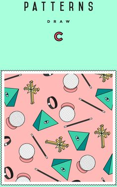Patterns Draw on Behance
