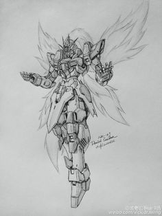 GUNDAM GUY: Awesome Gundam Sketches by VickiDrawing [Updated 7/9/15]