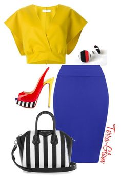 Lavish Lawyers by terra-glam on Polyvore featuring polyvore fashion style Jil Sander WearAll Christian Louboutin Givenchy clothing