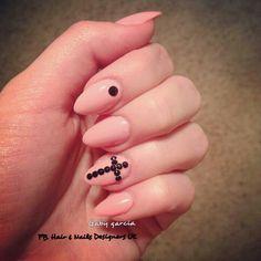 Acrilic# rhingstone nails