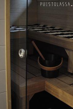 Puistolassa.: kylpyhuone