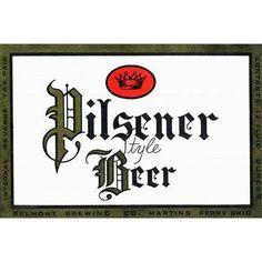 Buyenlarge 'Pilsener Style Beer' Vintage Advertisement