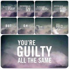 Linkin Park lyrics - guilty all the same