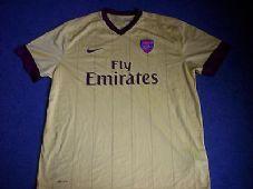 2010 2111 Arsenal Adults XXL Away Football Shirt Top Jersey Classic Football  Shirts 0ee2efde8