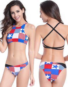 55a59a6f823 Back Cross straps Hot girls sexy exotic Bikini sets,Swimwear Bikini Set, Bikini  Swimsuit