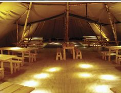 Internal of a tipi - the prefect blank canvas to create a very magical event space. @SamiTipiEvents