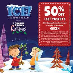 Get Gaylord Texan ICE Tickets to experience this Christmas tradition in Dallas, Texas (or actually Grapevine, Texas) - discounted for certain dates with this promo code DEBRA, thanks to my partnership with the Gaylord Texan. Christmas Events, Christmas Post, Christmas Traditions, Grinch Christmas, Christmas Carol, Cartoon Network Adventure Time, Adventure Time Anime, Dallas Attractions, Ugly Sweater Cookie