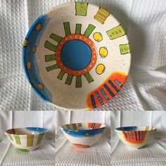 My new paint your own pottery bowl.