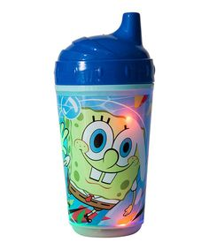 This Spongebob Light-Up Sippy Cup - Set of Two is perfect! #zulilyfinds