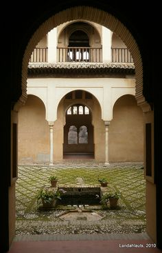 The Palace of Dar al- Horra , was the residence of the mother of Boabdil, Aixa.