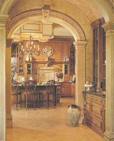 kitchen - French European Syle