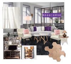 """""""Senza titolo #6"""" by donatella-lo-presti on Polyvore featuring interior, interiors, interior design, Casa, home decor, interior decorating, Creative Threads, Currey & Company, Zara Home e Urban Outfitters"""