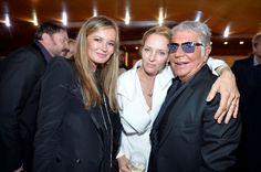 roberto cavalli r.c. yacht | Uma Thurman,Roberto Cavalli and Eva Cavalli_RC Dinner Party in Cannes ...