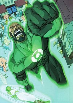 Green Lantern/John Stewart by Eric Nguyen