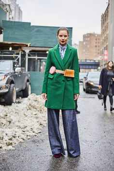 The grass is always greener when a green coat is involved