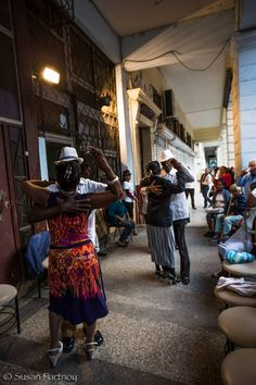 Cubans dancing Rumba in Central Havana, Cuba. LOL, here I really learned the Rumba!:-))))
