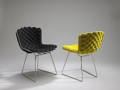 Transfiguration of Harry Bertoia`s Legendary Chair http://bestdesignideas.com/transfiguration-of-harry-bertoias-legendary-chair
