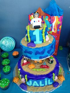 Jalil bubble guppies bday