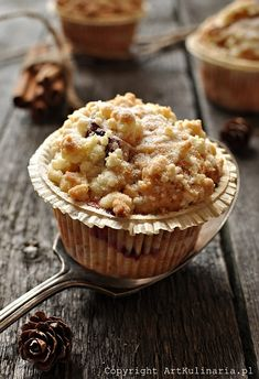 with Plums and Cinnamon High Altitude Biscuit Recipe, High Altitude Banana Bread, High Altitude Baking, Banana Bread With Oil, Banana Bread Muffins, Power Muffins, Banana Granola, Little Corner, Yummy Eats
