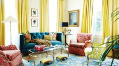 Domaine Home   Melissa Miles Rufty Home Tour   Colorful Living Spaces