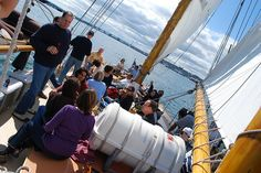 The KGP crew during our annual Casco Bay schooner outing.