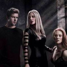 Jason, Pam, Jessica- True Blood