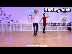 Hockey Stick - Bronze Level - Rumba Basic Syllabus - with technique - Dance Lessons in Beverly Hills - YouTube
