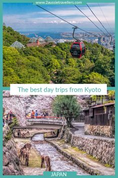 Kyoto is an amazing city but there are also many fun day trips you can take from a base in Kyoto or Osaka.  Whether your focus is culture, history, nature, food, hiking or city life there is something in these 16 best day trips from Kyoto for everyone.  #kyoto #osaka #japan