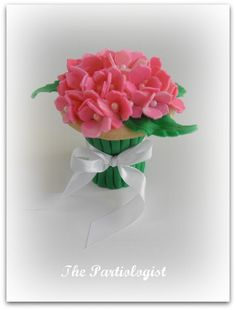 Hydrangea - Partiologist http://thepartiologist.blogspot.com/2012/04/lets-smell-flowers-virtual-cookie-party.html