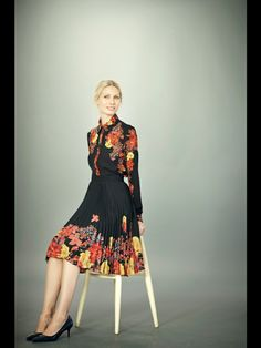 Erdem Pre-Fall 2012 - Runway Photos - Fashion Week - Runway, Fashion Shows and Collections - Vogue Boho Fashion, Fashion Beauty, Fashion Show, Fashion Looks, Fashion Design, Runway Fashion, 50 Style Dresses, Review Fashion, Erdem