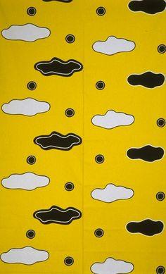 10-gruppens pattern Loggia from the Garden Party Collection 1994. Designer Ingela Håkansson-Lamm.