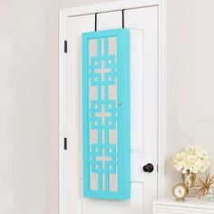 InnerSpace Luxury Products Wall & Over-The-Door Mirror Jewelry Armoire