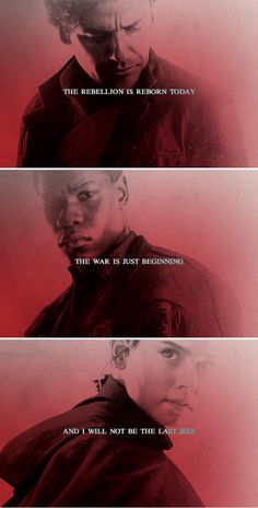 """""""The Resistance is dead, the war is over, and when I kill you, I will have killed the last Jedi!"""" """"Amazing. Every word of what you just said was wrong."""" #sw"""