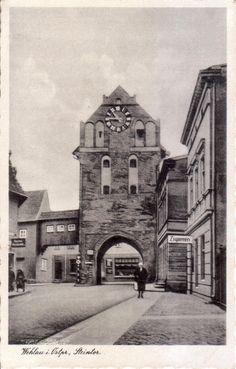 Wehlau / Ostpreußen Das Steintor