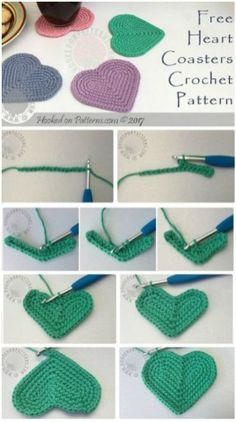 70 Easy Free Crochet Coaster Patterns for Beginners - Page 13 of 14 - DIY & Craf. 70 Easy Free Crochet Coaster Patterns for Beginners - Page 13 of 14 - DIY & Craf. Crochet Patterns For Beginners, Easy Crochet Patterns, Knitting For Beginners, Knitting Patterns, Beginner Crochet, Crochet Ideas, Crochet Panda, Crochet Gratis, Easy Knitting Projects