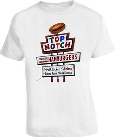24eecea48c6 Dazed and Confused Top Notch Burgers Movie T Shirt