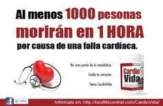 1000 PERSONAS MORIRÁN DENTRO DE UNA HORA POR UNA FALLA CARDÍACA. NO TE CONV