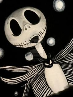 *JACK SKELLINGTON ~ The Nightmare before Christmas by xamandcarterx