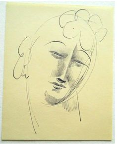 Head of a Woman with Curls, ca.1916