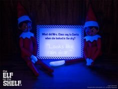 Secret Message in Black Light Ink | Elf on the Shelf Ideas