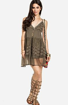 Check out Lounging in Lace at DailyLook