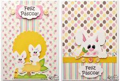 Páscoa 2014: Veja diversos modelos de cartões de páscoa criativos para enviar aos seus amigos!