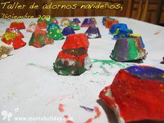 Estupendos adornos navideños que se marcaron nuestros campistas. #camping #madrid