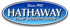 Custom rubber stamps, office supplies and signage.