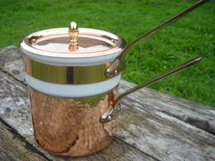 Mauviel Hammered Vintage French Copper Bain by NormandyKitchen, €195.00