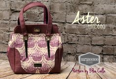 The Aster Handbag - PDF Sewing Pattern