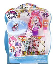 Take a look at this My Little Pony Cosmetic Set today!
