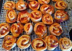 The Grove Gal: Football Food: Pizza Pinwheels