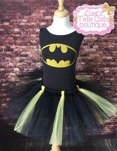 Traje de tutu de Batman adulto adolescente. por LisasTutus en Etsy